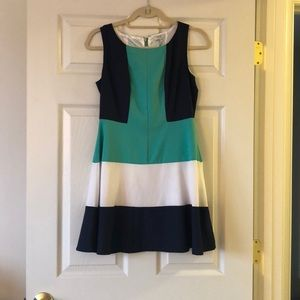 Tobi color block dress